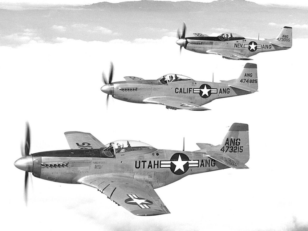 File 144th Fighter Group 3 F 51 Flight Jpg Wikimedia