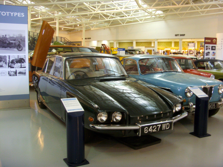 File 1961 Rover T4 Gas Turbine Prototype Heritage Motor Centre