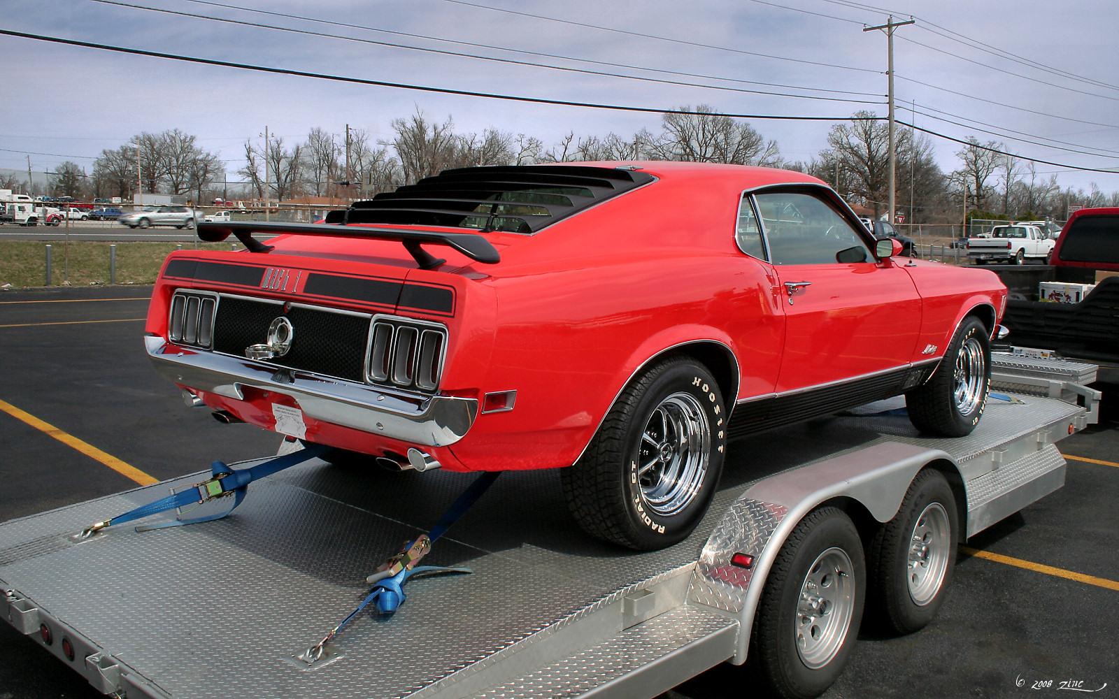 File 1970 Ford Mustang Mach I Red Rvr Jpg Wikimedia