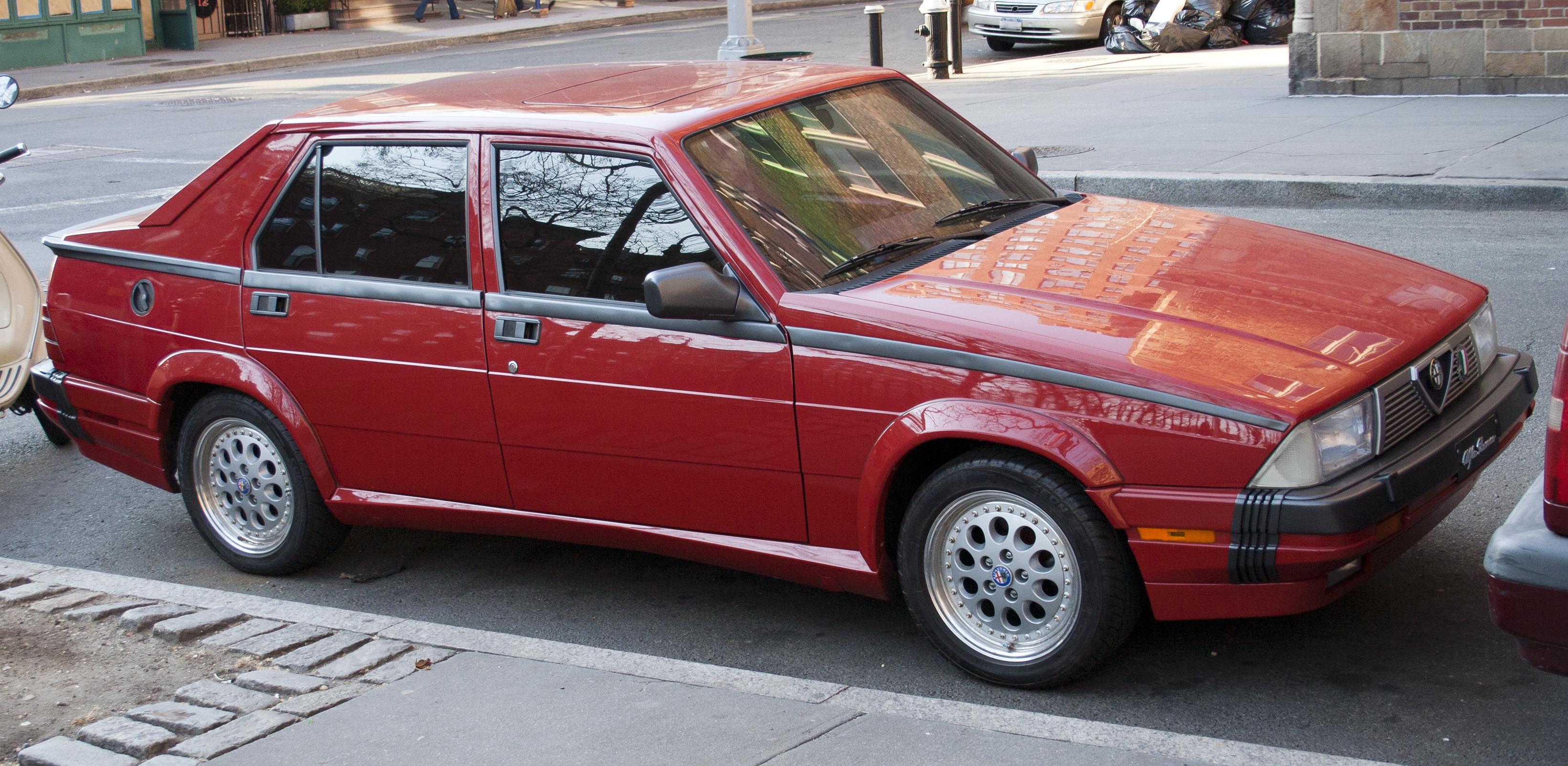 Alfa romeo giulia v6 twin turbo 18