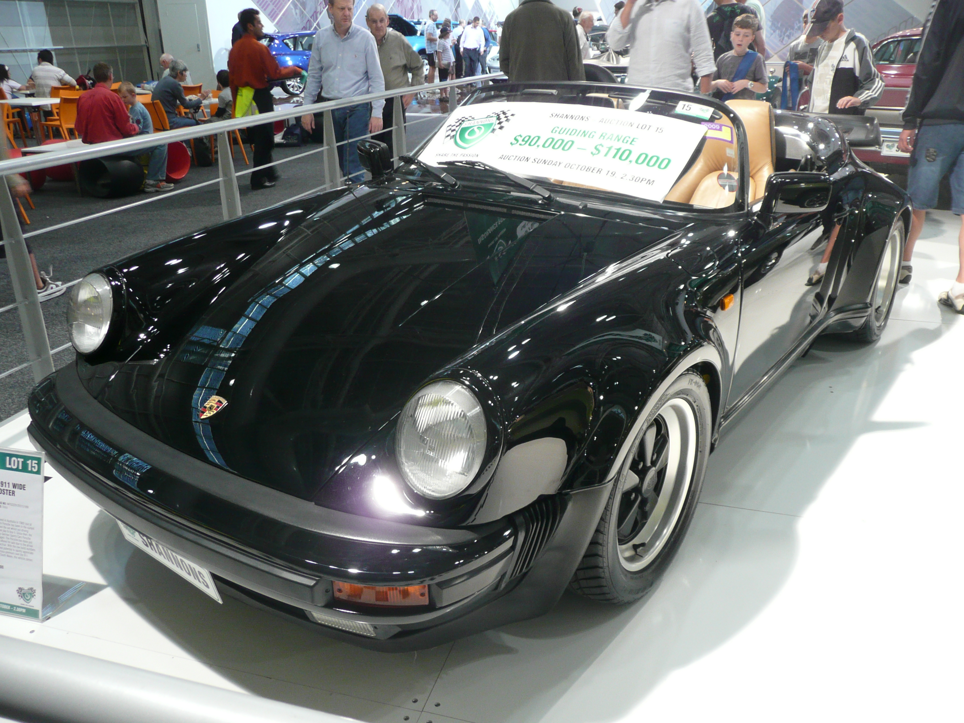 File 1989 Porsche 911 Wide Body Speedster Convertible 01