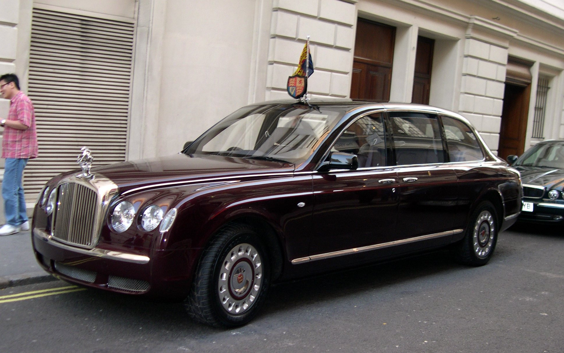 bentley state limousine 2002