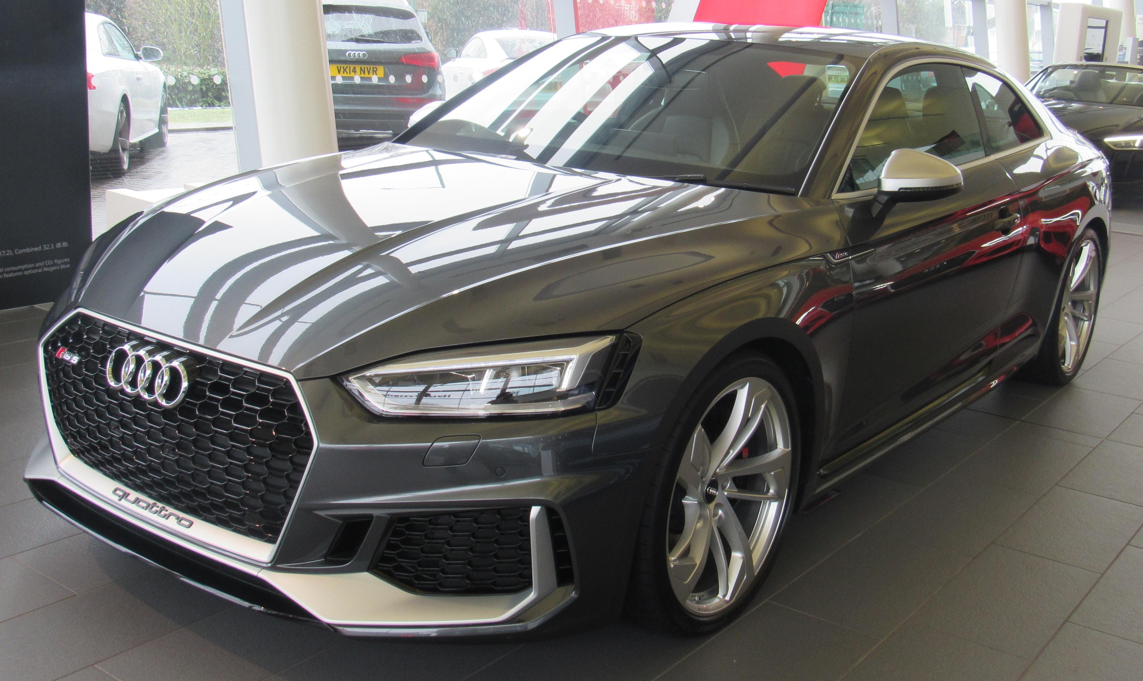 File 2017 Audi Rs 5 Quattro Front Jpg