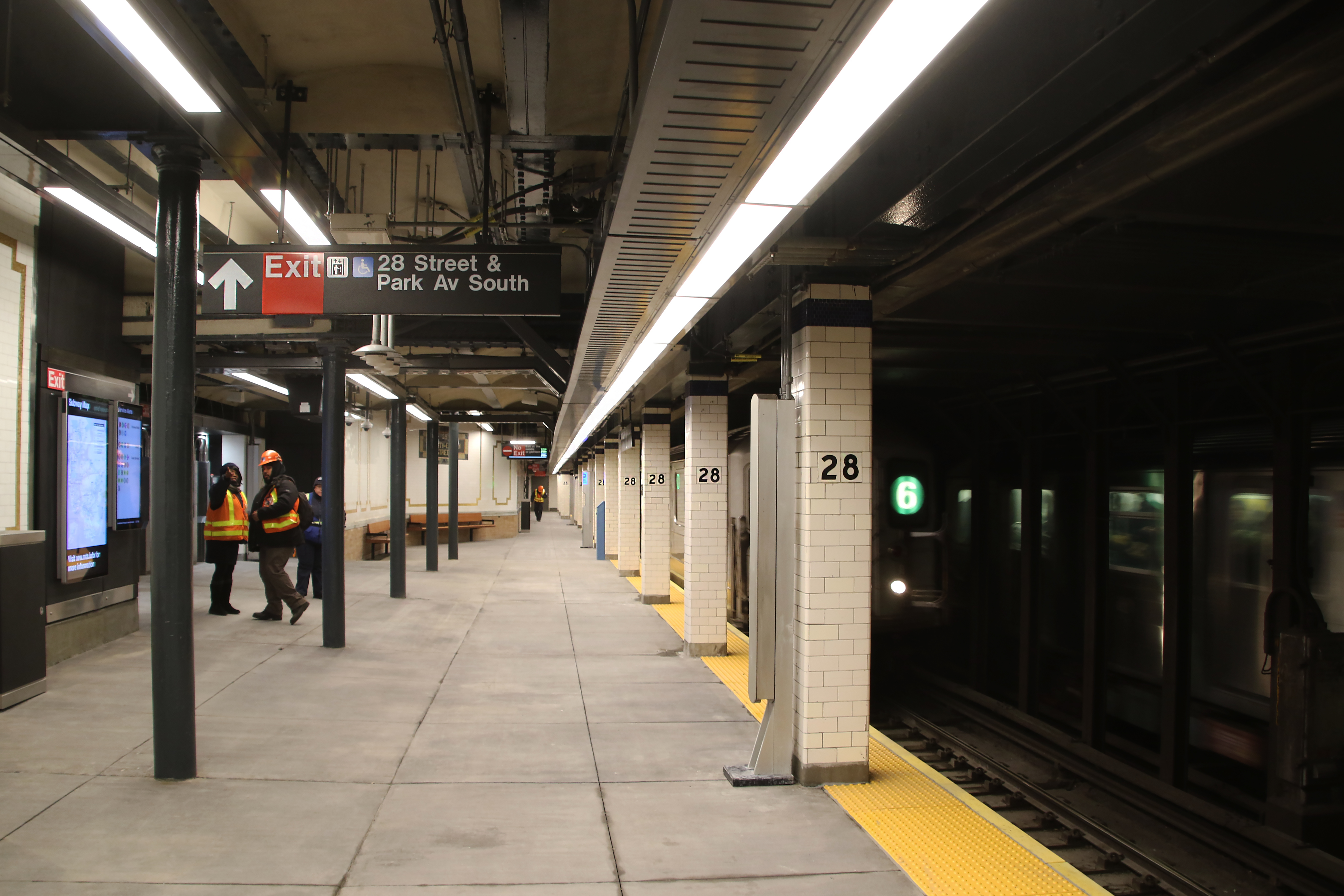 Exit Strategy Nyc Subway Map.28th Street Station Irt Lexington Avenue Line Wikipedia