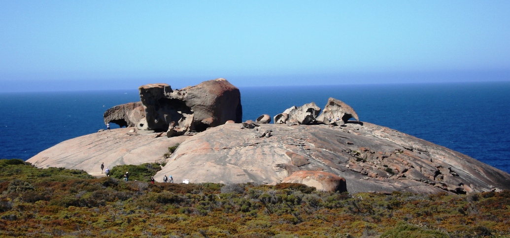 Download this Description Aus Kangaroo Island Remarkable Rocks picture