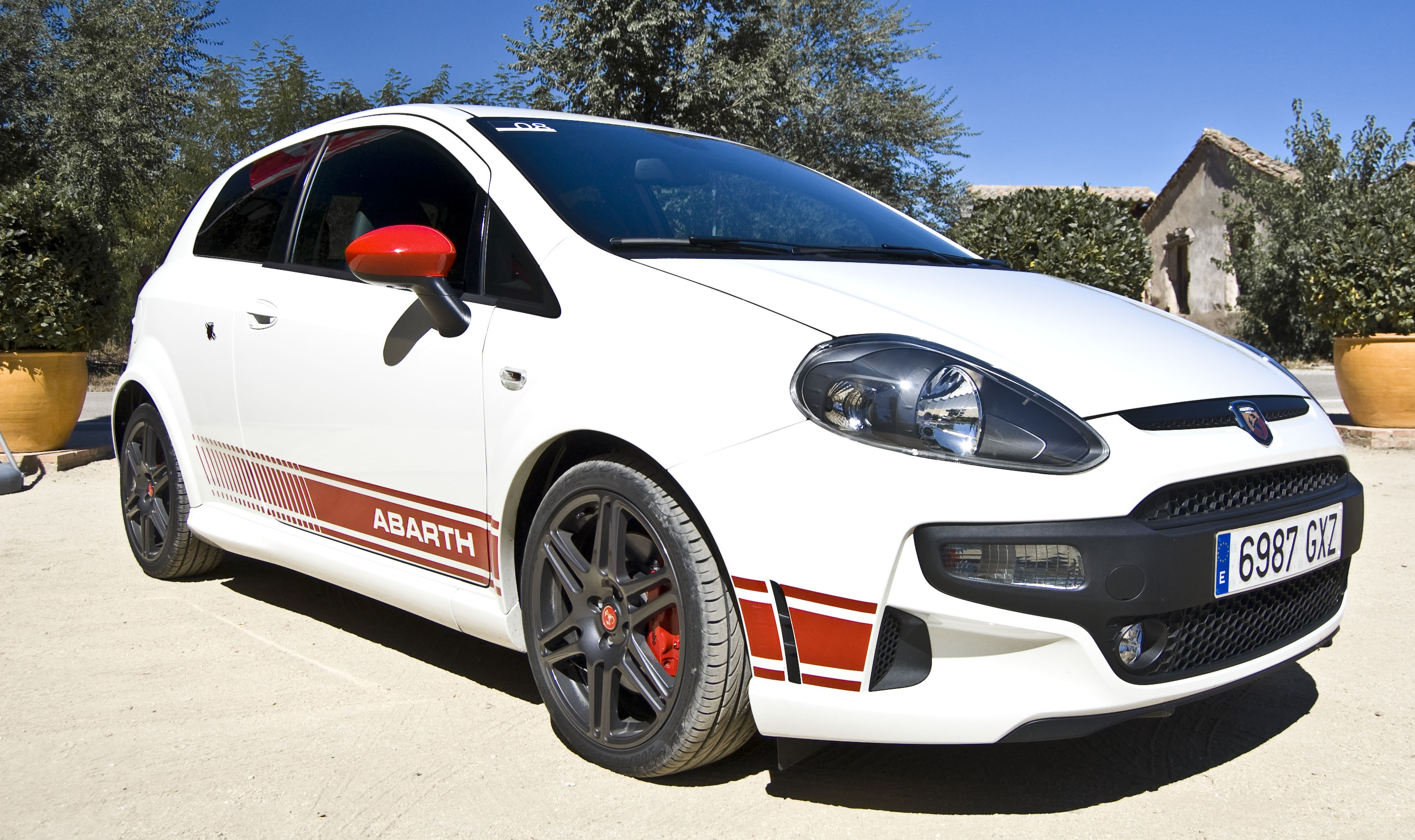 Abarth Punto Evo White File:abarth Punto Evo Flickr