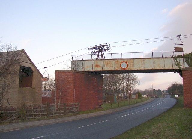 Aerial ropeway, Claughton - geograph.org.uk - 639705.jpg