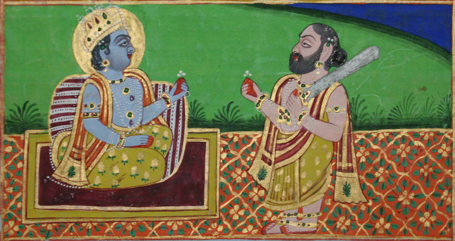Agastya giving Rama a sword.jpg