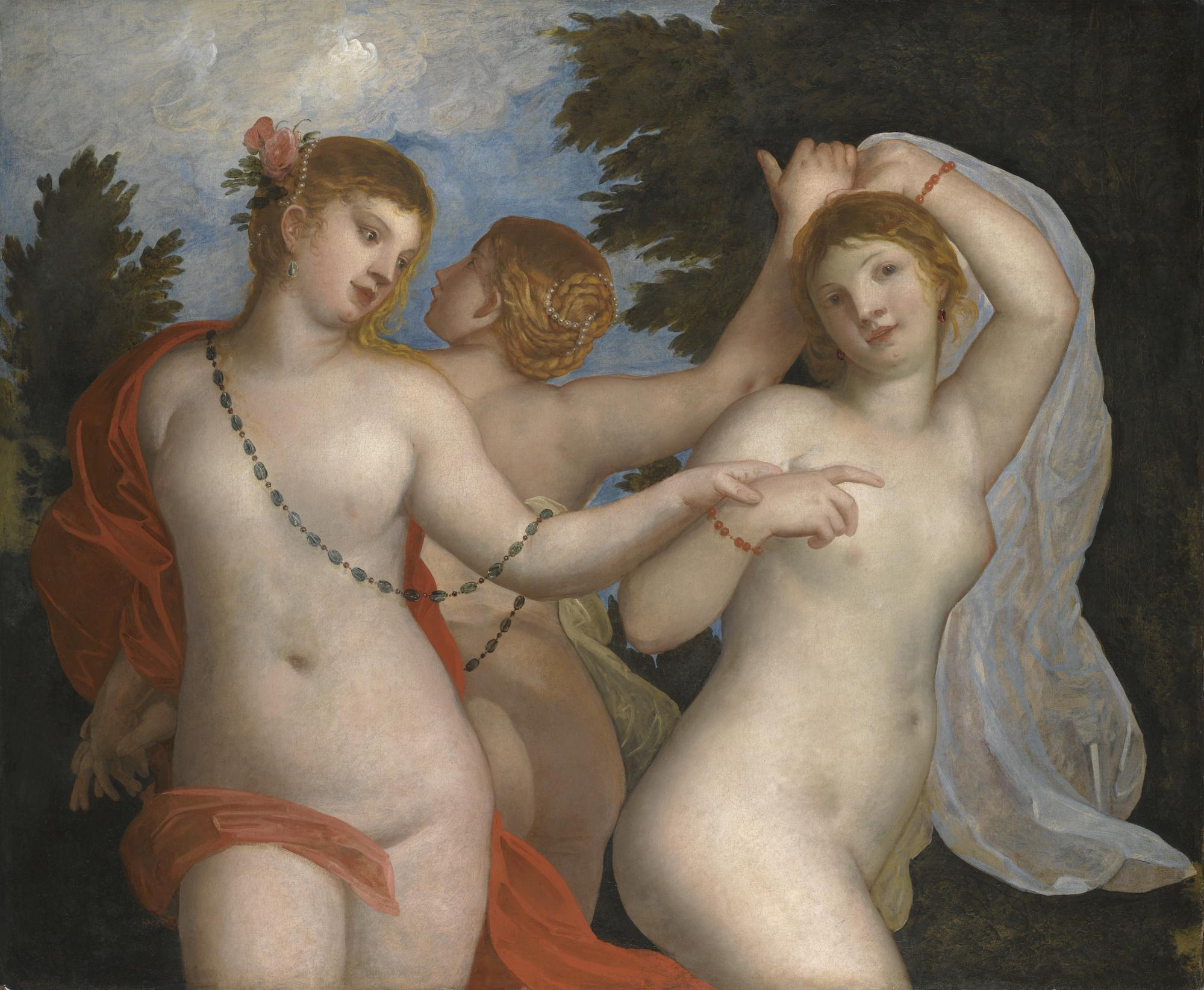 The Three Graces paintings by Padovanino