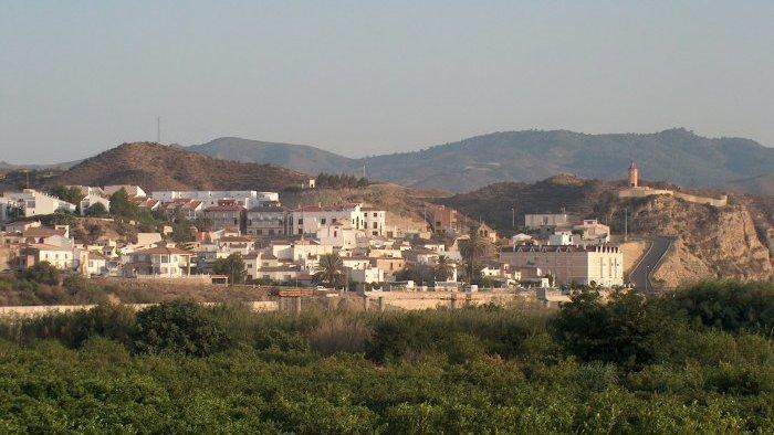 Vista de Arboleas
