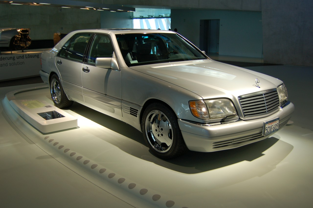 W140 And The Mercedes Museum In Stuttgart Page 3