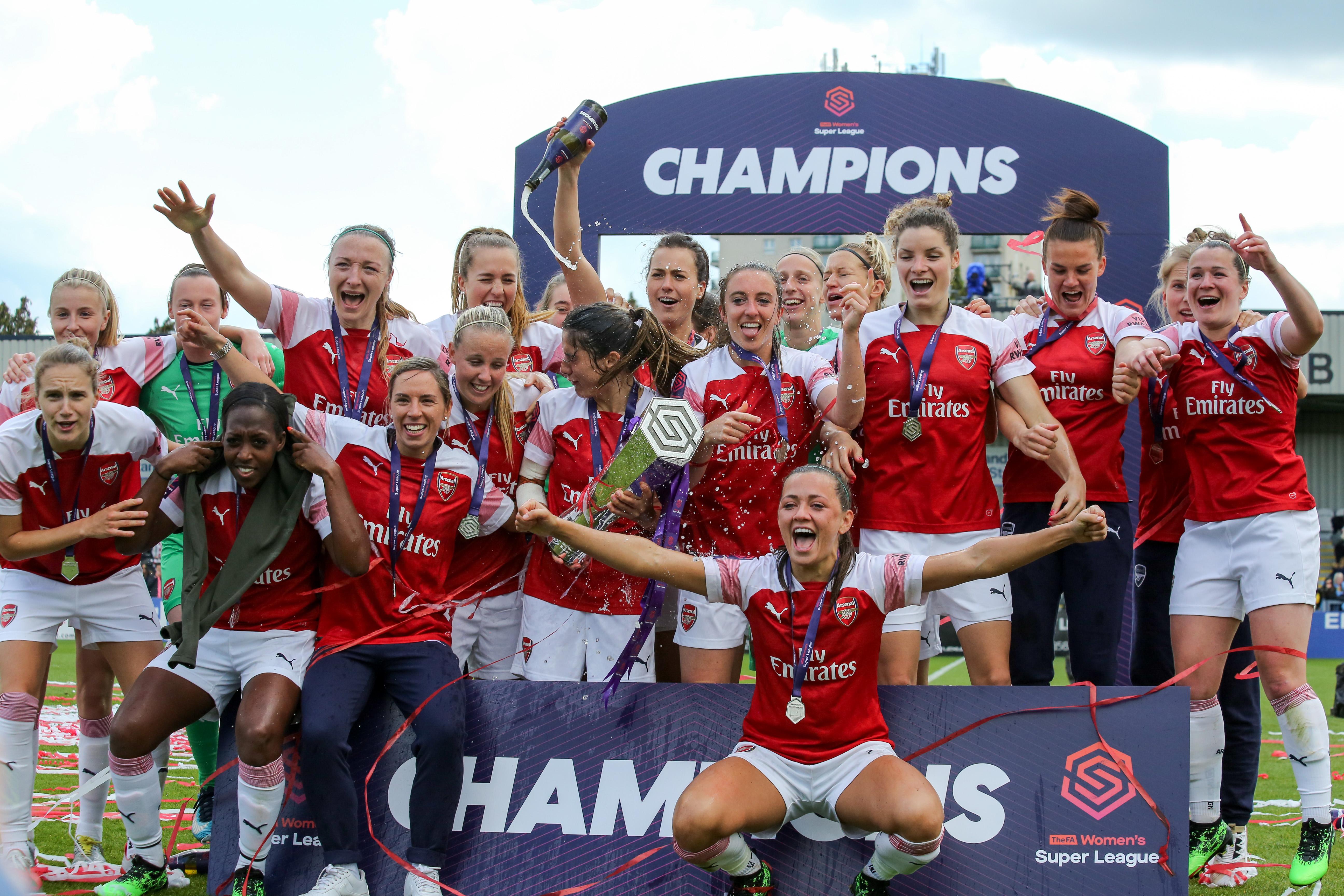 best website 9a0b5 08630 2018–19 Arsenal W.F.C. season - Wikipedia