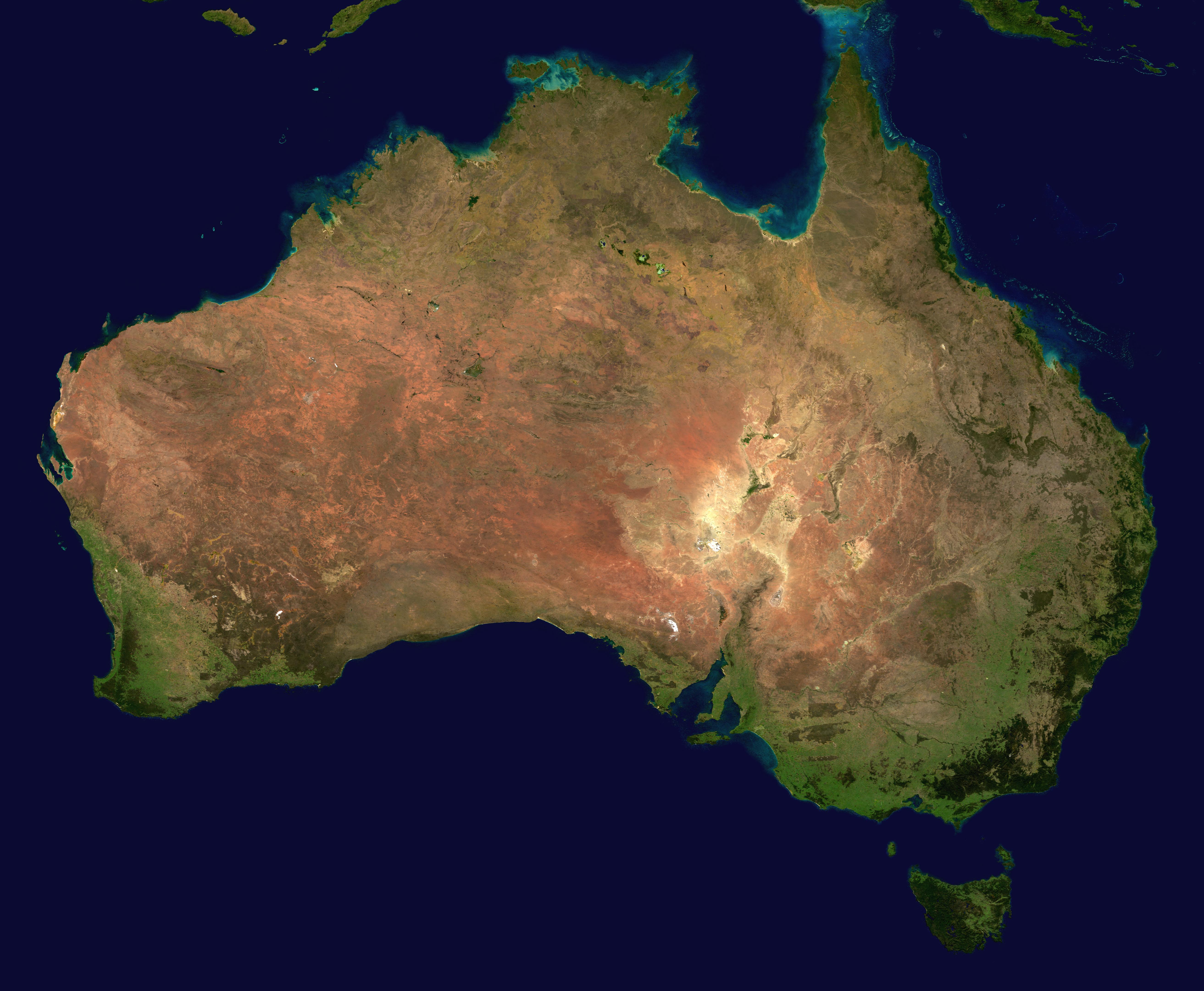 geography of australia wikipedia