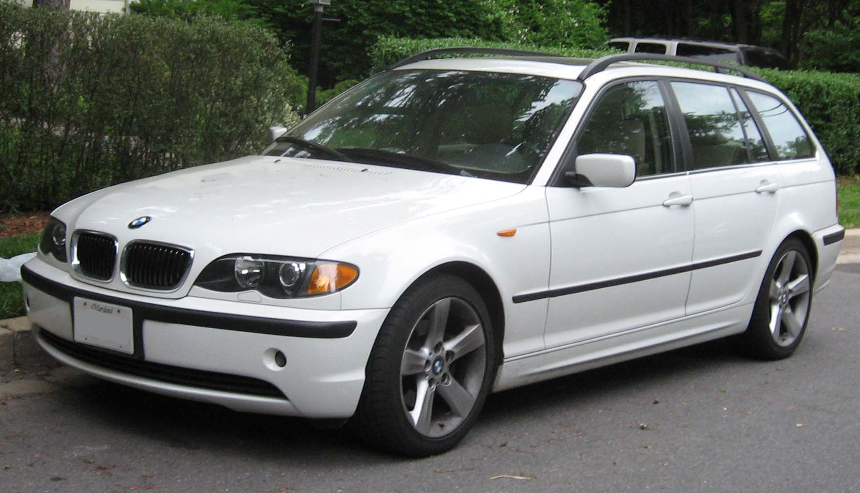 ファイル Bmw E46 Wagon Jpg Wikipedia