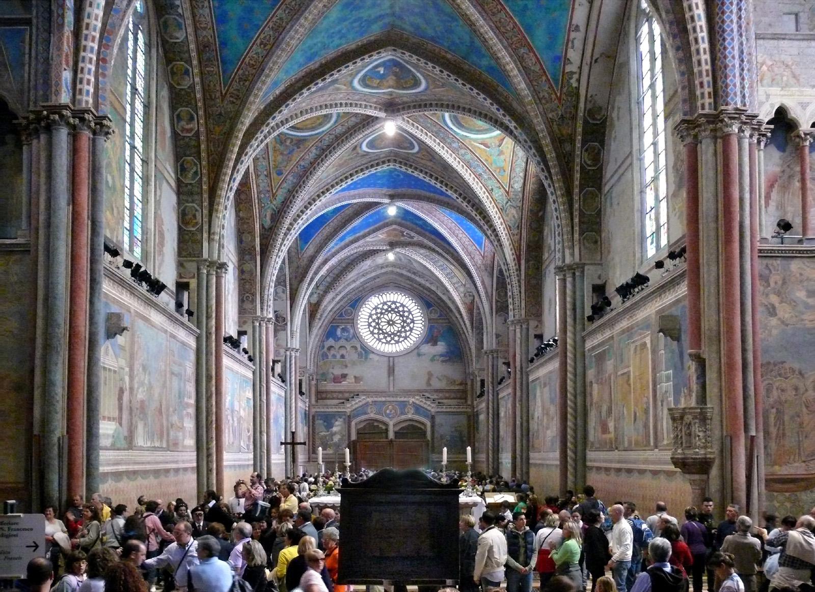 Risultati immagini per basilica di san francesco assisi