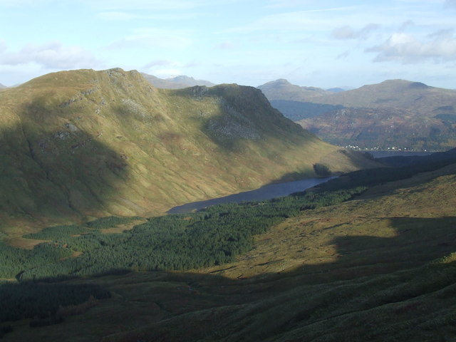 Beinn Lochain and the Cowal Way - geograph.org.uk - 1217808