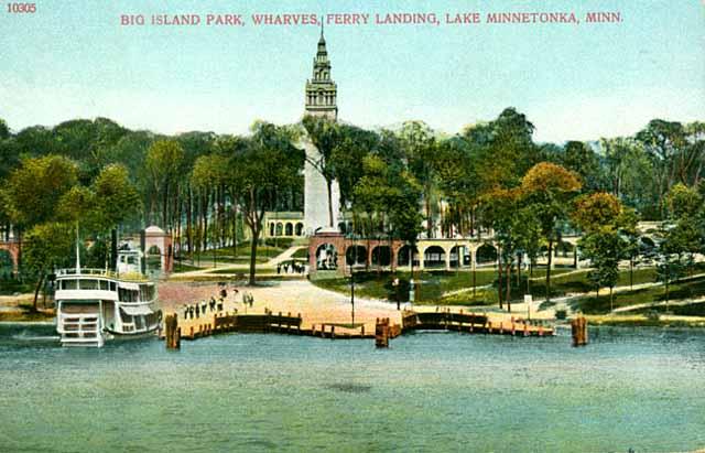 Big Island Lake Minnetonka Amusement Park