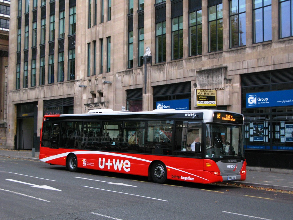 wessex buses bristol