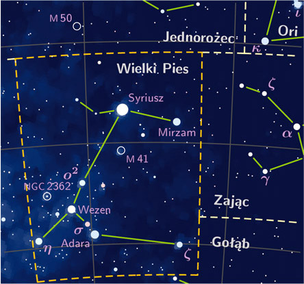 Canis major constelation PP3 map PL.jpg
