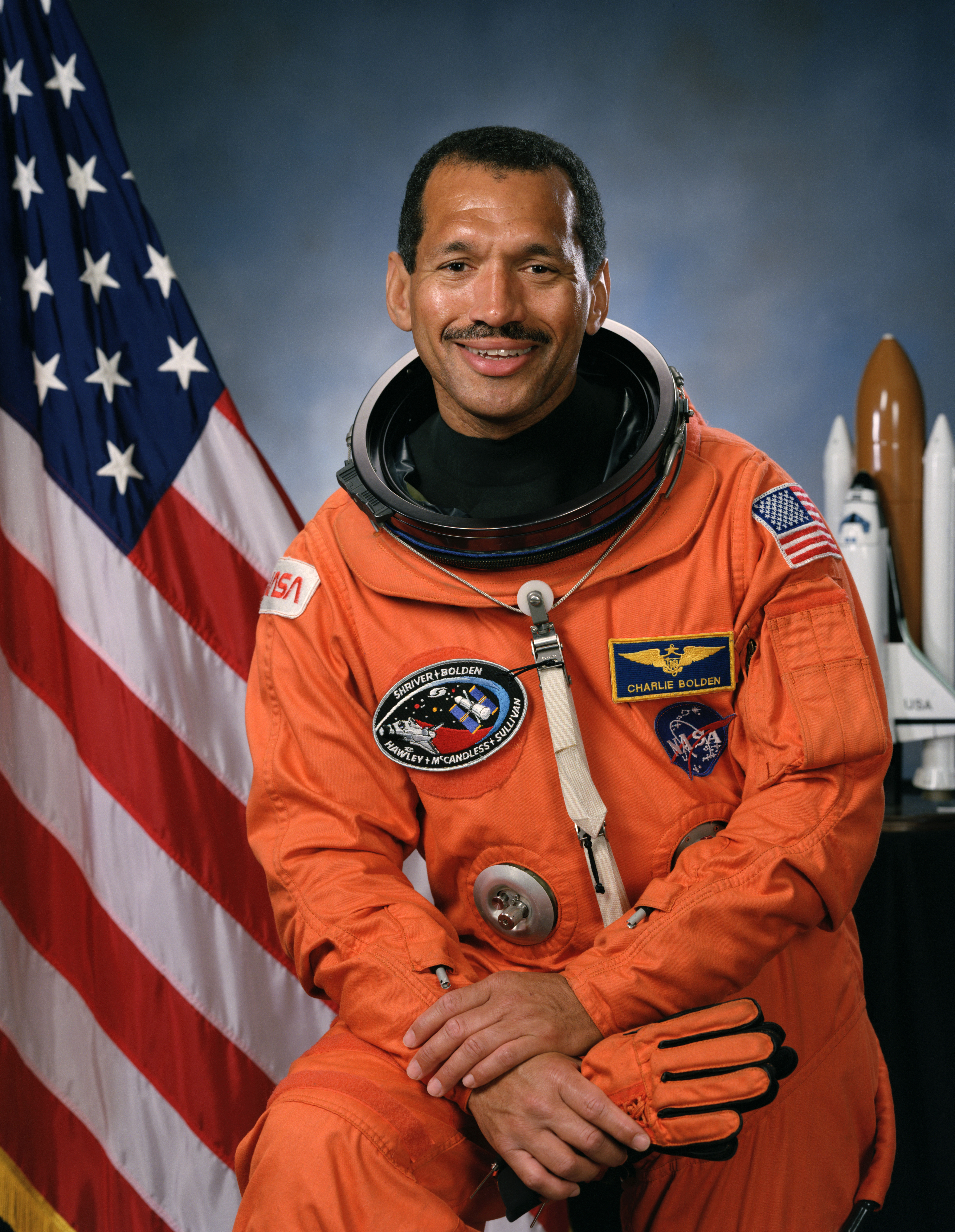 image of Charles Bolden