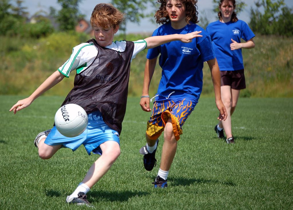 Description children playing gaelic football ajax ontario