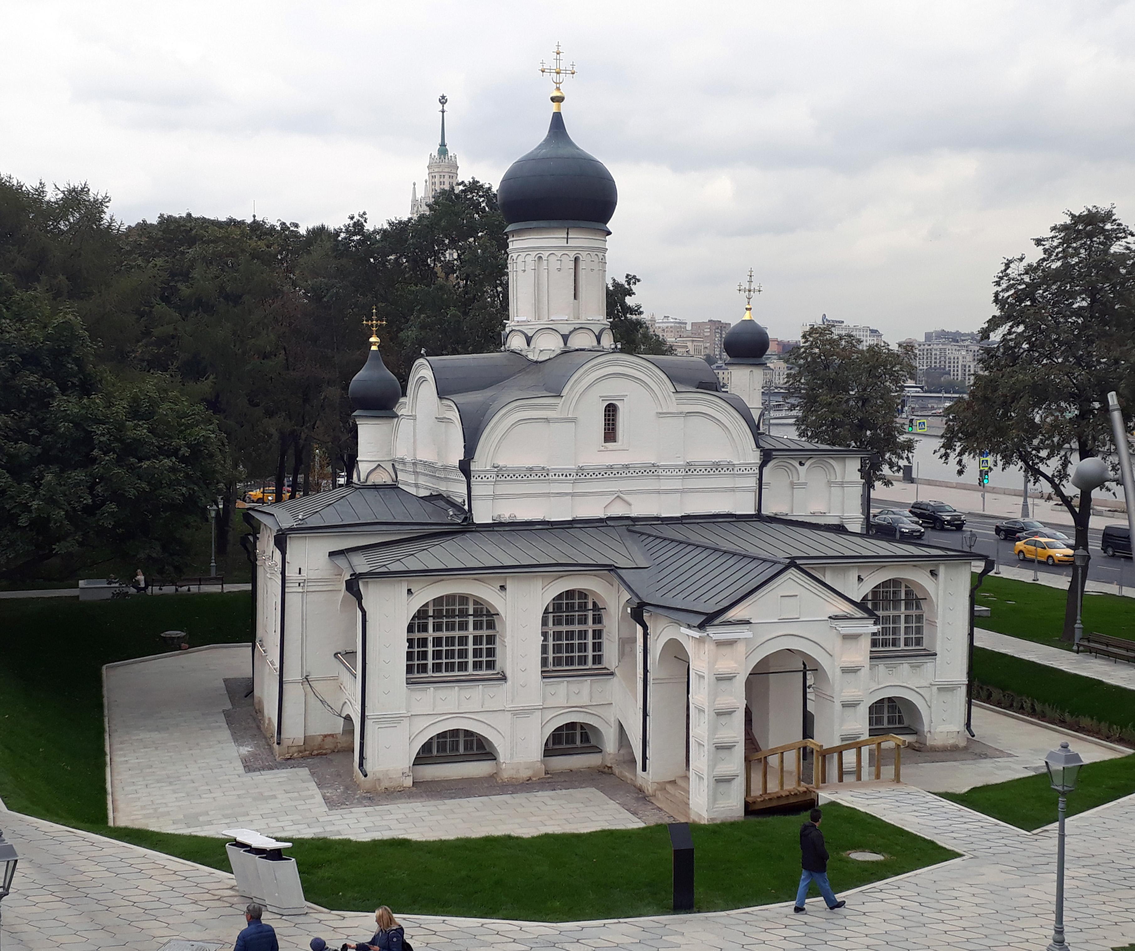Церковь Зачатия Анны, что в Углу — Википедия