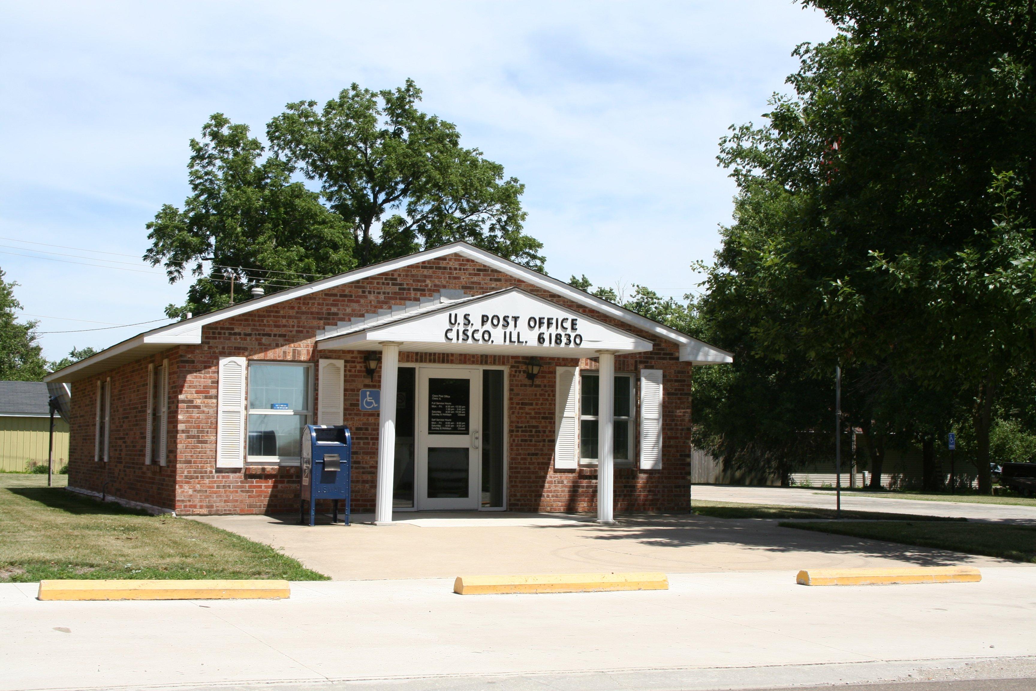Illinois piatt county cisco - File Cisco Illinois Post Office Jpg