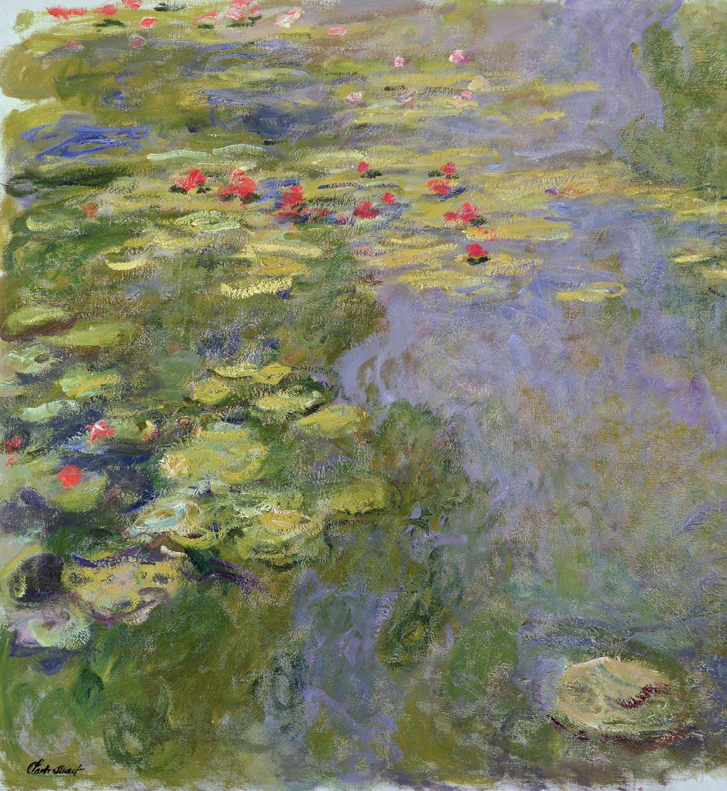 File:Claude Monet - Le bassin aux nymphéas W1888(1) - Musée Marmottan-Monet.jpg  - Wikimedia Commons