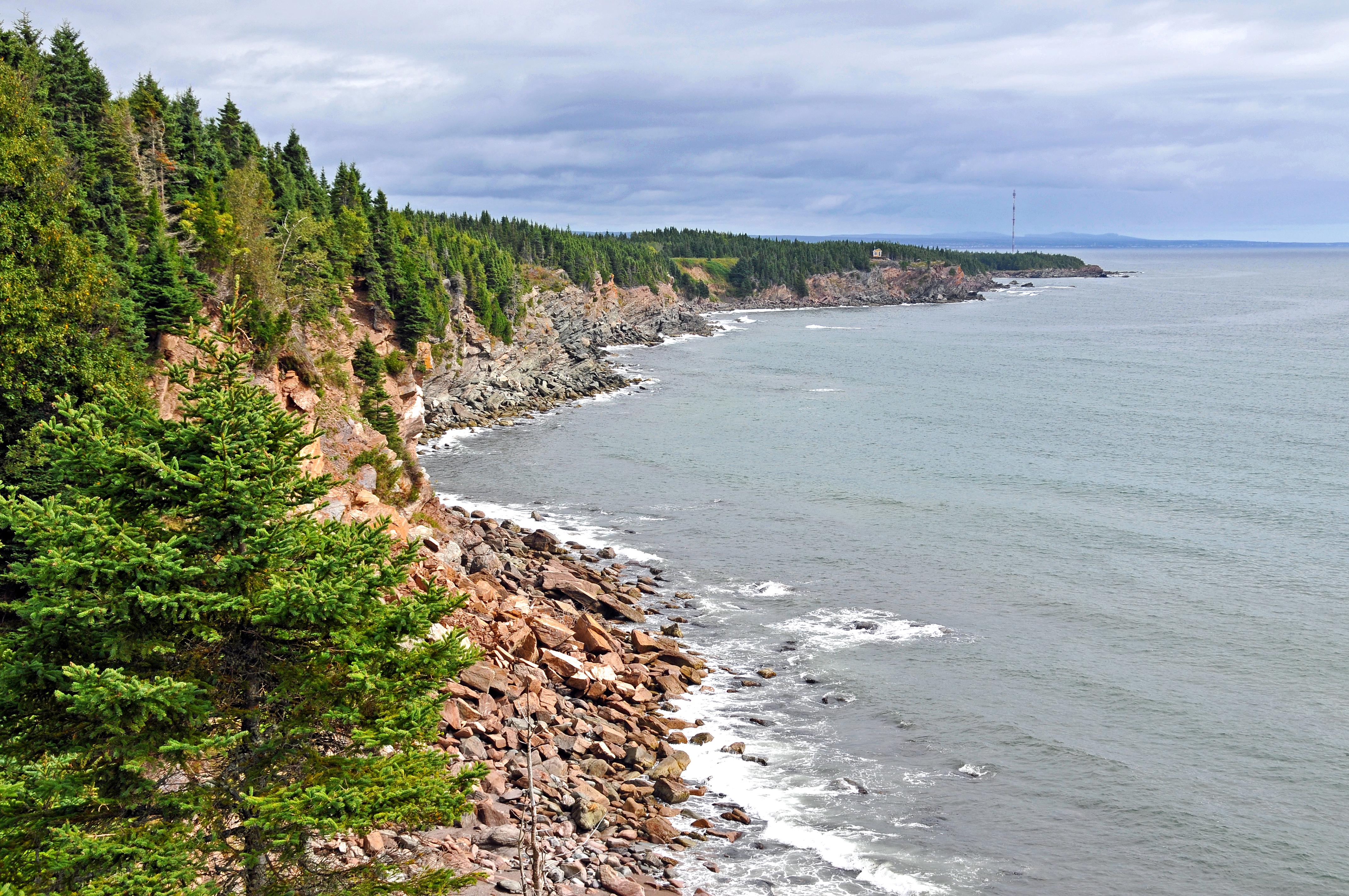file coastline of the gaspe jpg wikimedia commons