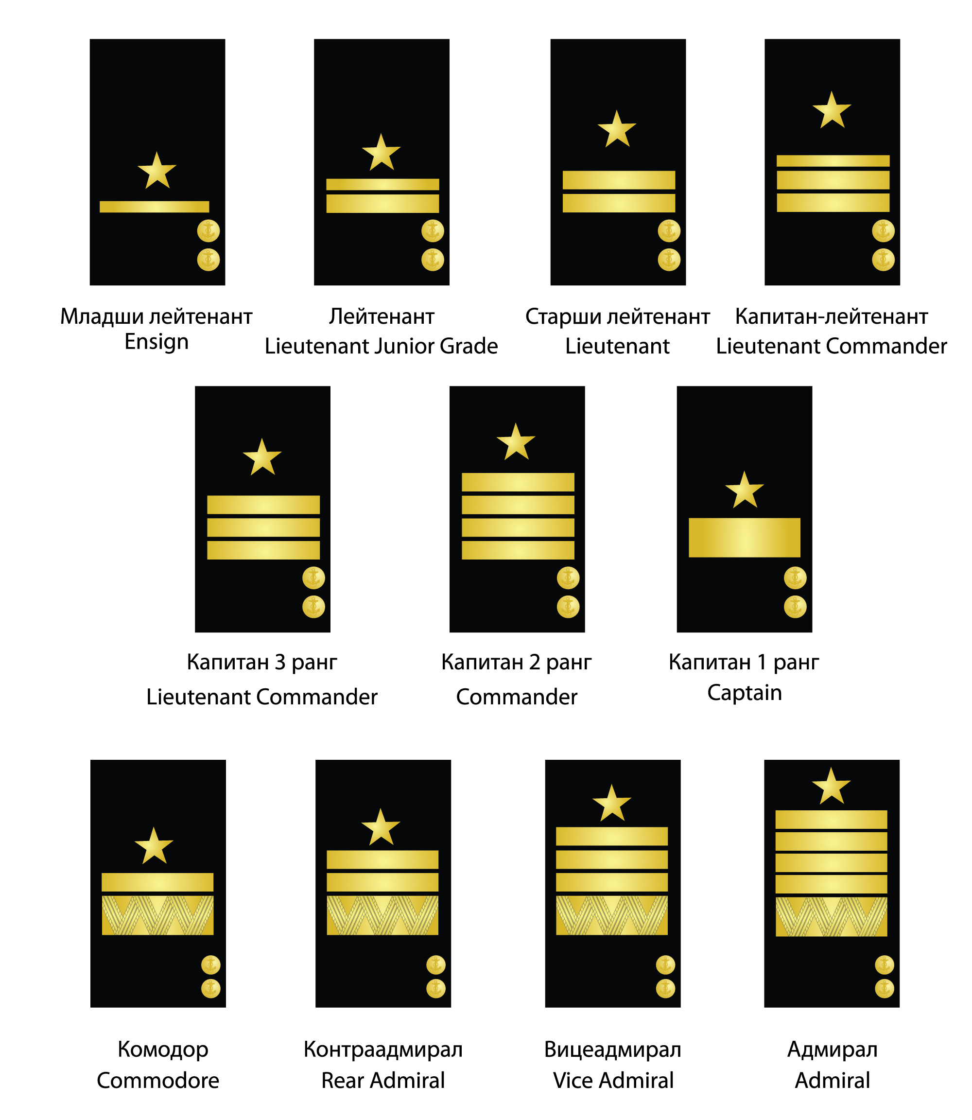 rank structure The first order used two systems of rank insignia in its military the military rank of officers of the first order navy, and of the army when not in combat.