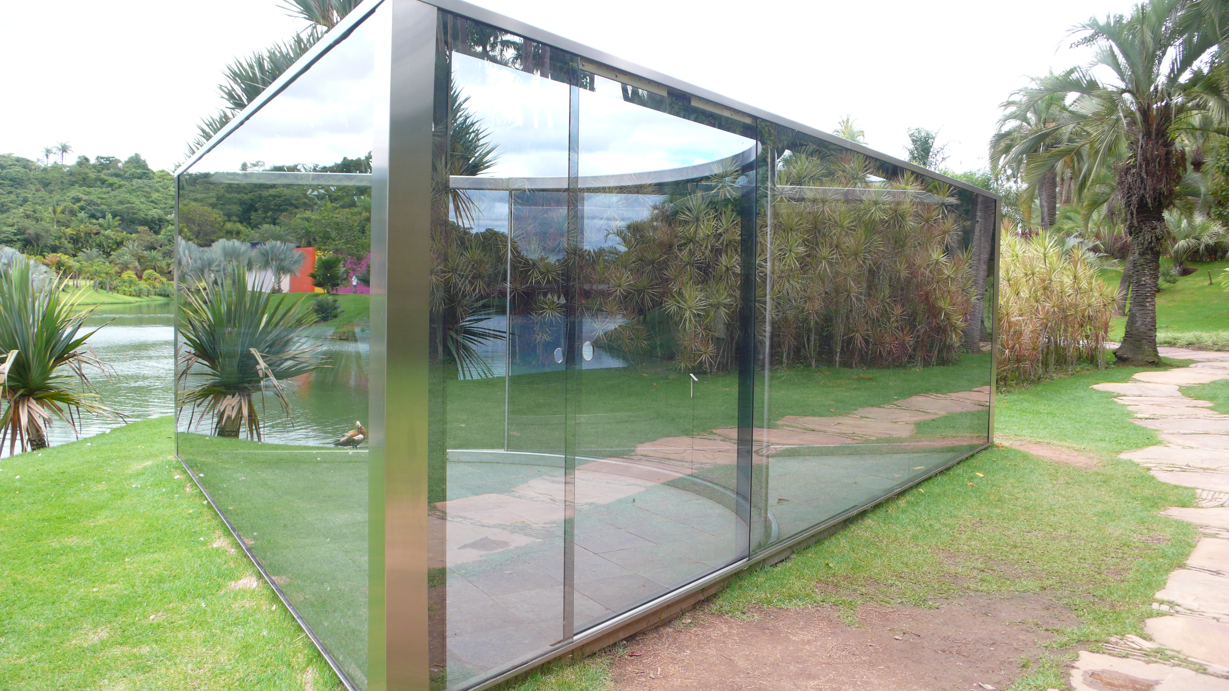 Garden Mirror Glass