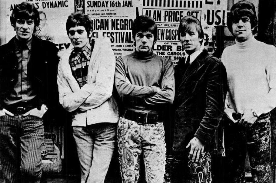 (von links nach rechts): Beaky, Mick, Dozy, Tich und Dave Dee, 1967