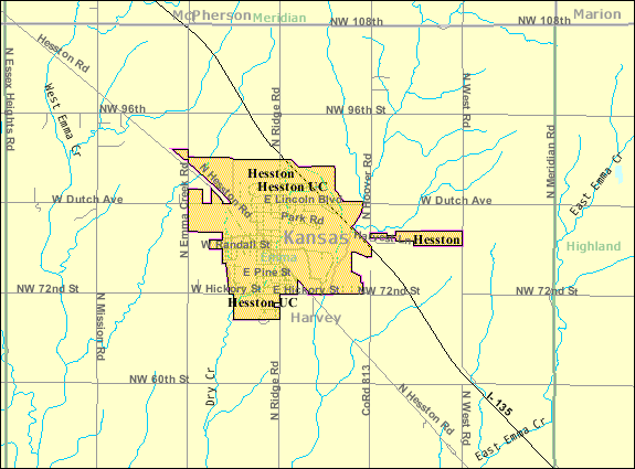 file detailed map of hesston kansas wikimedia mons