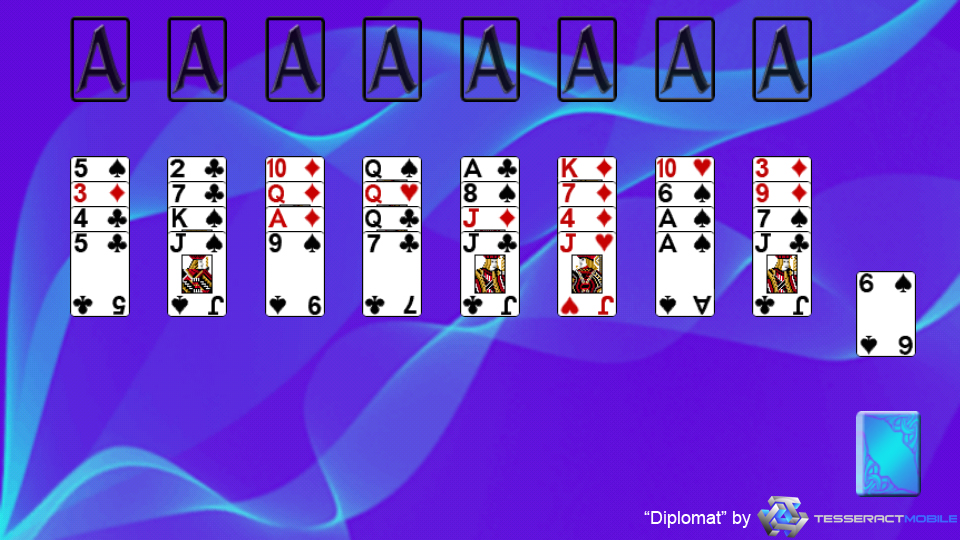 Just solitaire eight off