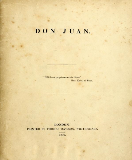 Don Juan (poem) - Wikipedia