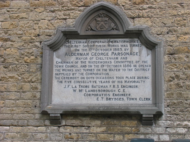 Dowdeswell Reservoir commemorative plaque - geograph.org.uk - 43905