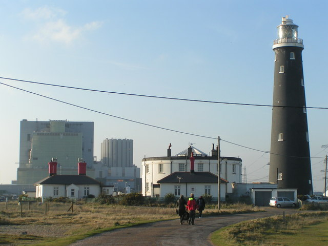 Dungeness Old Light and Power Station - geograph.org.uk - 731248