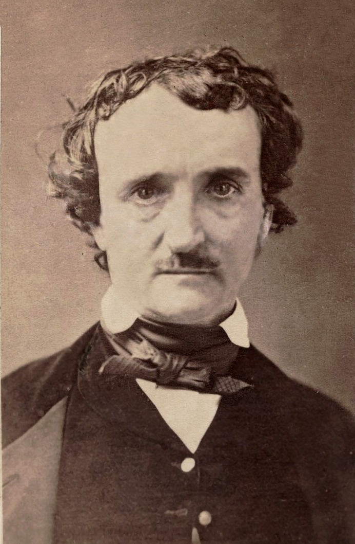 Carte de Visite of Edgar Allan Poe