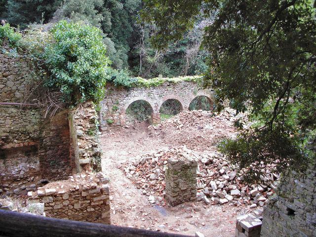 Eremo di Malavalle Convento, ruderi del complesso architettonico