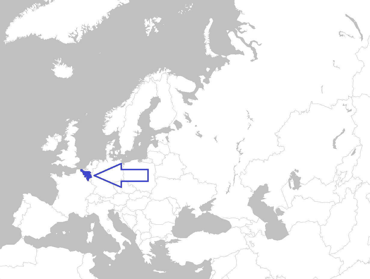 FileEurope map belgiumpng Wikimedia Commons