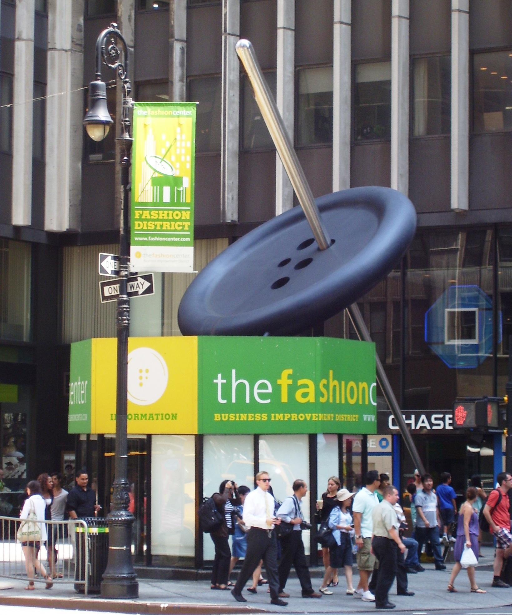 Fashion District of New York City