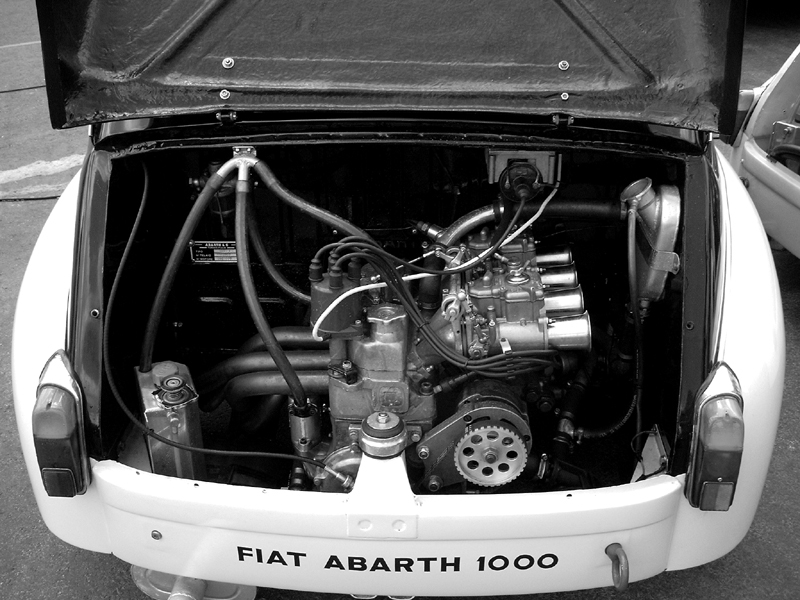 File Fiat Abarth 1000 Engine Jpg Wikimedia Commons