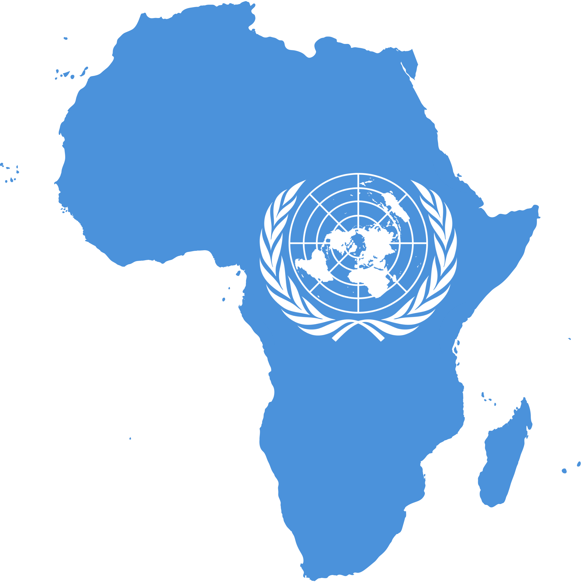 africa map united nations