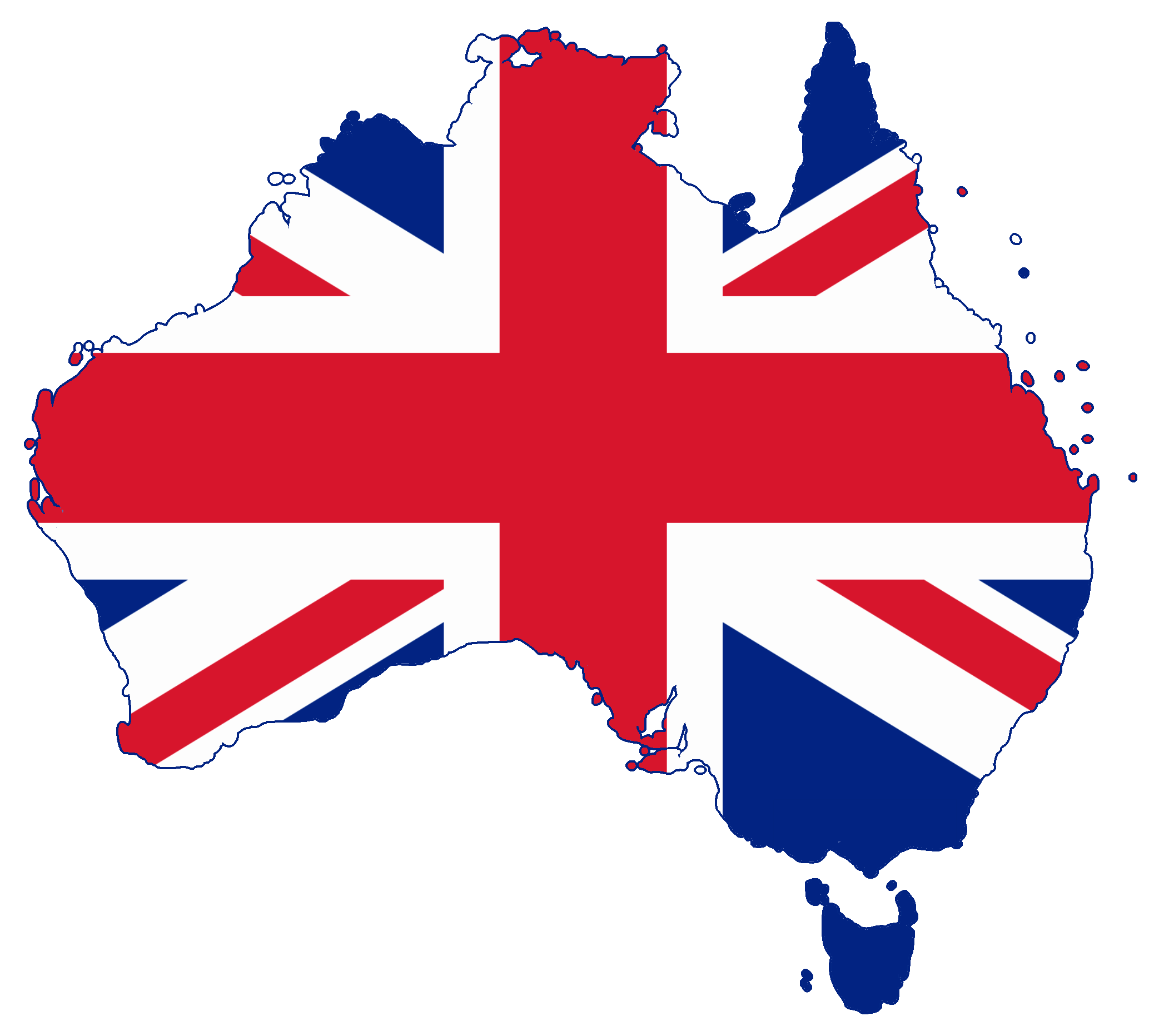 Australia Map With Flag.File Flag Map Of Australia United Kingdom Png Wikimedia Commons