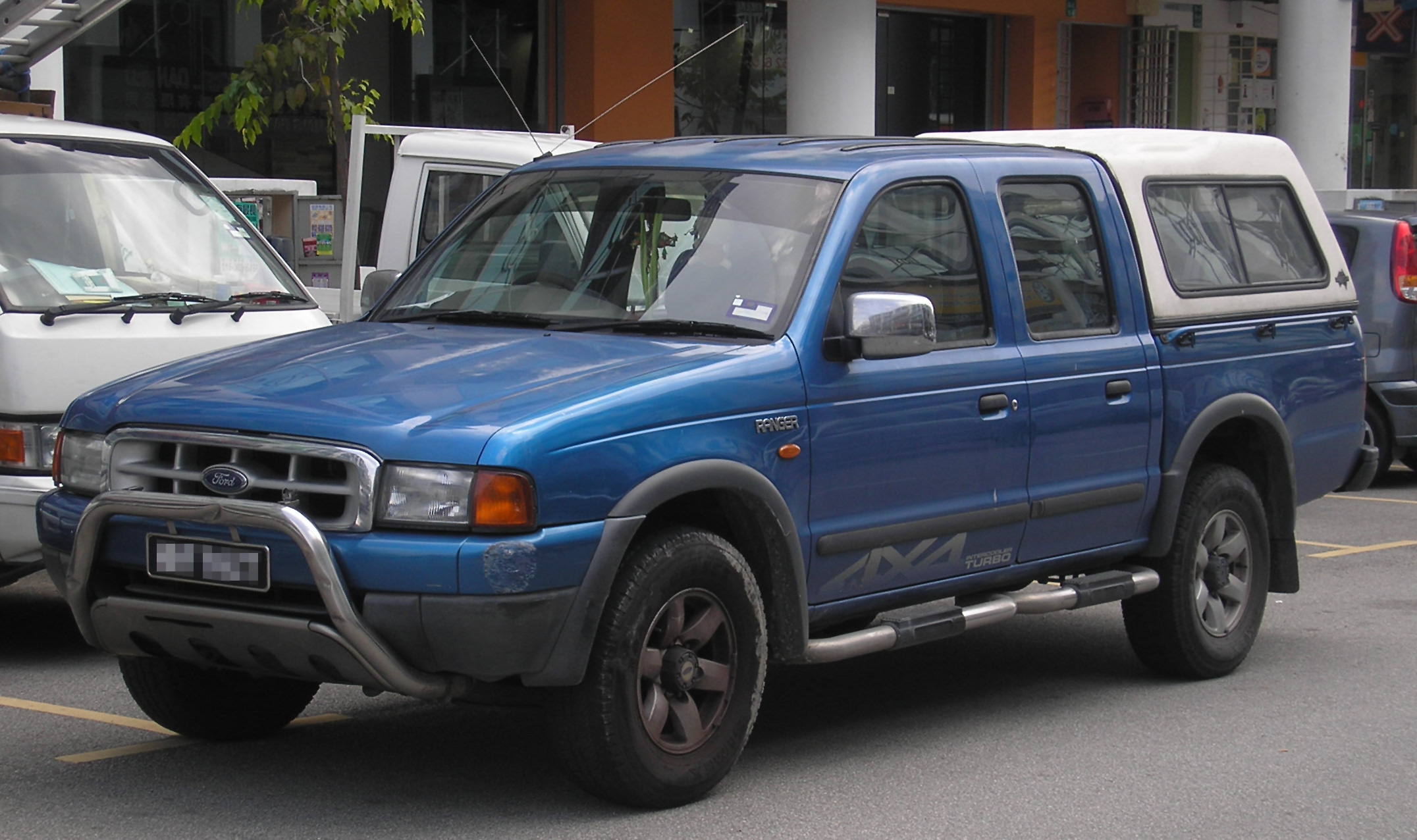 File:Ford Ranger (Southeast Asian, First Generation) (front), Serdang