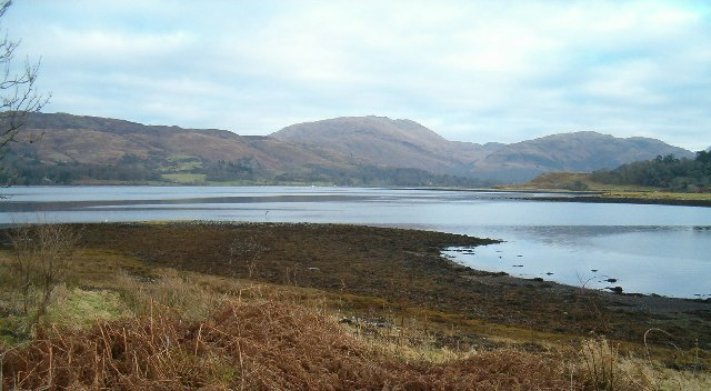 File:Foreshore, Loch Etive - geograph.org.uk - 91687.jpg