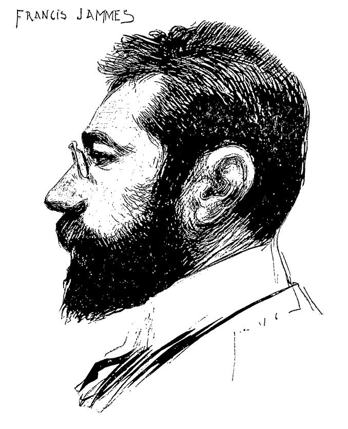 Francis Jammes, retrato de Jean Veber.