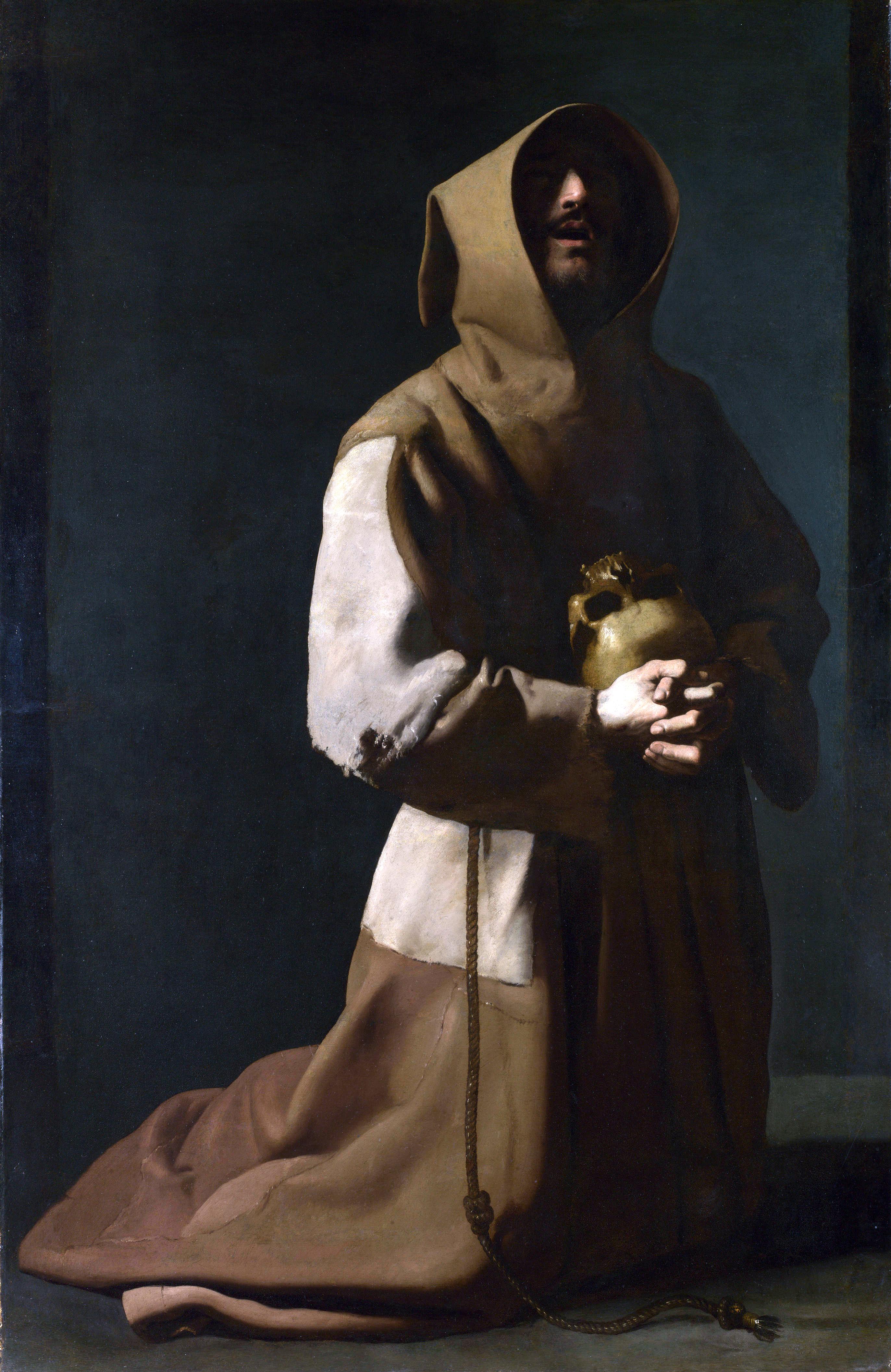 Image result for Saint Francis in Meditation