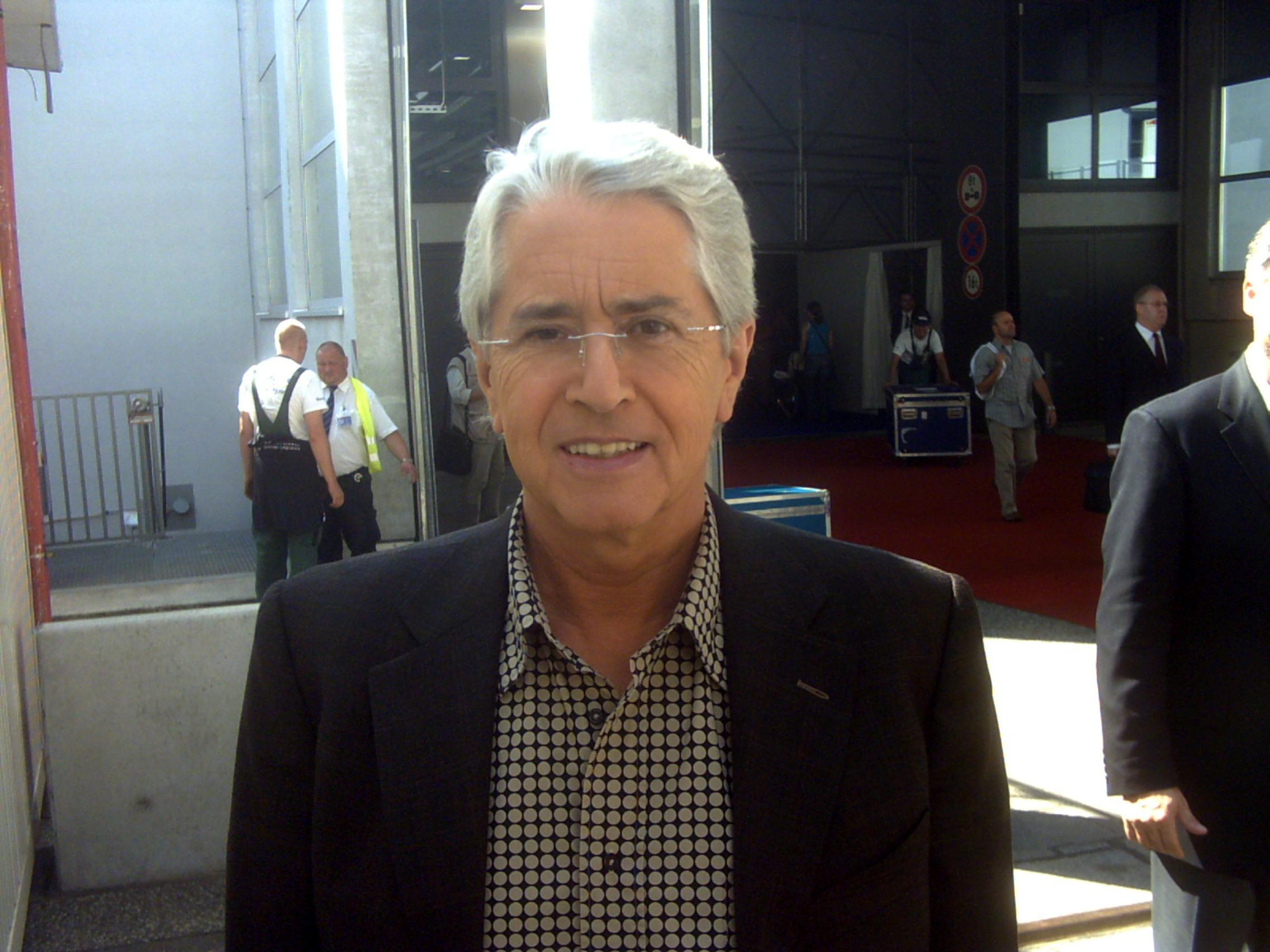 Frank Elstner Glasauge