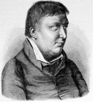 Depiction of Friedrich Schlegel